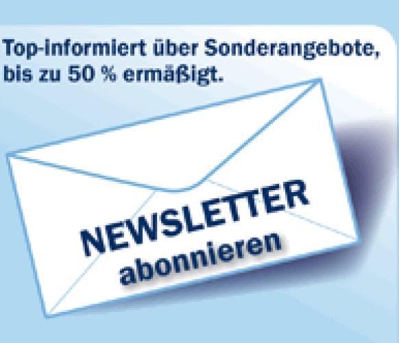 Donau Touristik Webelement, Button Newsletter_bestellen