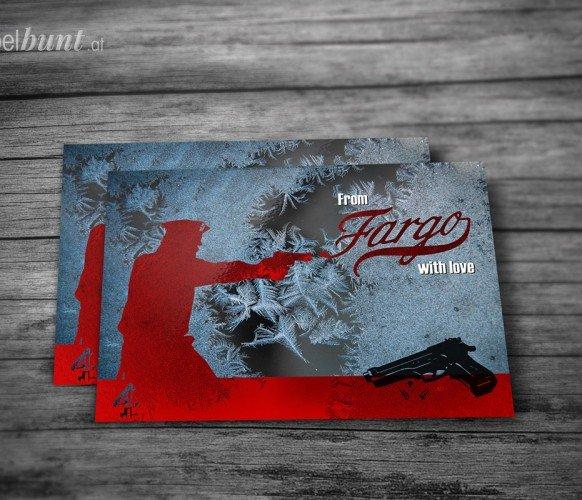 Fargo-Postkarte