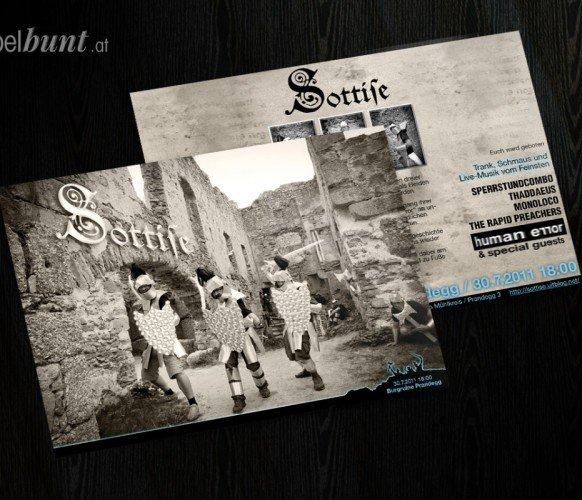 Sottise Flyer 2011